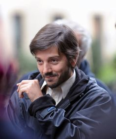 Diego Luna on the movie set of 'If Beale Street Could Talk' on November 8 2017 in New York City