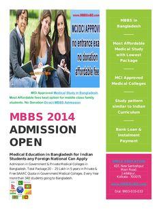 Cheap MBBS Fees for Admission by Sumon Chaudhury via slideshare