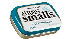 """Altoids Mints Smalls  Wintergreen Sugar Free ( Box of 9 Cans Each Can 50 Pieces Total 450 Pieces ) $11.99 """"FREE SHIPPING"""" at www.JGUM.NET"""