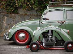 Volkswagen Beetle Vintage, Honda Cbx, Automobile, Custom Cafe Racer, Car Restoration, Mini Bike, Vw Beetles, Go Kart, Vintage Cars