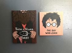 Harry Potter canvas