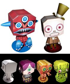 Awesome self promo ideas - paper characters