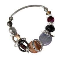 Checkout this amazing deal Lilac Silver Bracelet,$45