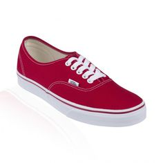d01363a44c Authentic Red Vans Authentic Red