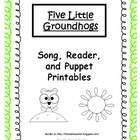 Here is a groundhog song that the children can sing along with a reader.  There are also printable popsicle puppets that the children can color and...