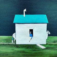 Gertrude Abercrombie (aka The Gertrude Stein of the midwest) - 66 years after her last show in New York City her surrealistic paintings, curated by Dan Nadal, were on view Karma Gallery