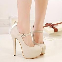 Women's Shoes Round Toe Stiletto Heel Heels Shoes More Colors available – GBP £ 18.24