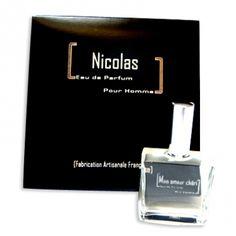 Parfum homme personnalisé