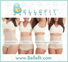 Bellefit® is the Leading Brand of Medical-Grade Post Pregnancy Girdles & Corsets for Women Recovering from C-Section & Natural Birth. Click on the link to see which Bellefit is right for you!