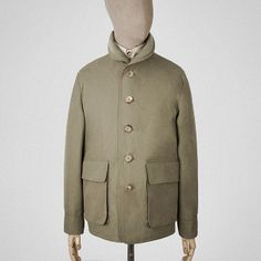 Earth green Ventile tour jacket    Garments made with the makers of the British Isles