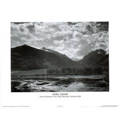 Ansel Adams Lake at Rocky Mountain Park POSTER