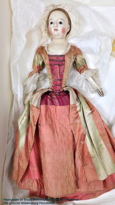 Two Nerdy History Girls: A Beautiful Georgian Doll, 1740-1760