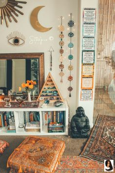 home zen room / home zen room . home zen room meditation space . home zen room interiors . zen home decor living room . yoga room ideas zen space home . home yoga room zen . zen home gym workout rooms . home office zen room Hippy Room, Boho Room, Beachy Room, Sala Zen, Zen Space, Aesthetic Room Decor, Boho Aesthetic, Witch Aesthetic, Meditation Space