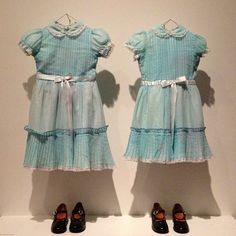 Stanley Kubrick at LACMA. Wardrobe from 'Shining'