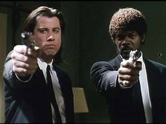 "Pulp Fiction-Jules: ""What country are you from?""  Brett: ""What? What? Wh - ?""  Jules: "" 'What' ain't no country I've ever heard of. They speak English in What?""  Brett: ""What?""   Jules: ""English, motherfucker, do you speak it?""   Brett: ""Yes! Yes!"""