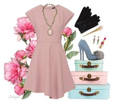 """4.Vintage romance"" by gabyidc ❤ liked on Polyvore featuring OKA, TIBI, Privileged by J.C. Dossier, Yves Saint Laurent, Forever 21 and vintage"