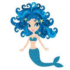 Blue Mermaid Wheelchair Costume Child's