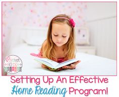 Setting up a classroom and home reading program. Includes tips and strategies to implement a reading program and how-to create reading folders with FREE parent hand-outs.