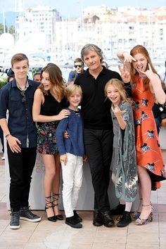 """cast de """"Captain Fantastic""""  .  Cannes 2016"""