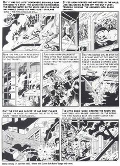 """wally wood's adaptation of ray bradbury's """"there will come soft rains"""" for weird fantasy 17 (jan-feb 1953)"""