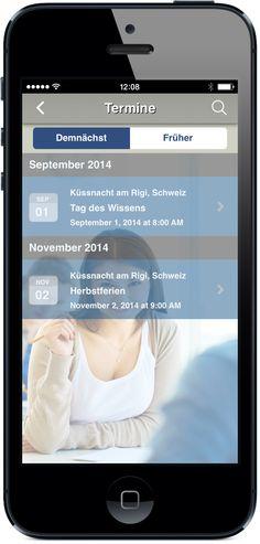 Ihre App für Bildung und Schule - Eventkalender mit allen Details zu Ferien, Prüfungstagen und Events. App jetzt live testen: http://nextvisionapps.com/de/online-demo-bildung
