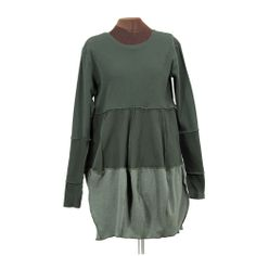 ALL OLIVE ALL THE TIME - reconstructed dress, Secret Lentil Clothing #reconstructed #clothing #recycled
