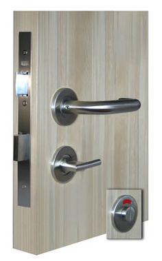 39 best door handles images on pinterest door handles door knob and door knobs for Commercial bathroom door handle