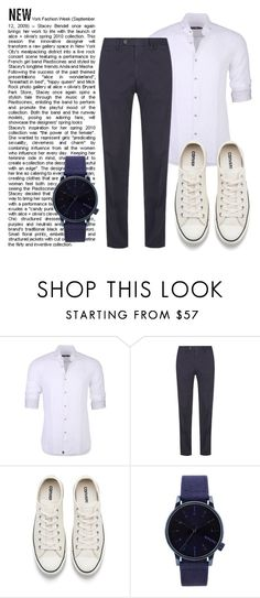 """""""😉"""" by jasmine077 ❤ liked on Polyvore featuring Stone Rose, Canali, Converse, Komono, men's fashion and menswear"""