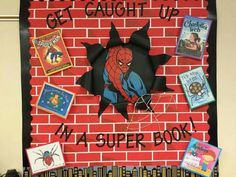 Thiking about doing a superhero classroom theme? WeAreTeachers has you covered. Read on for super classroom decorations, tips, and tricks. Superhero School Theme, Superhero Classroom Decorations, Superhero Books, School Themes, Classroom Displays, Classroom Themes, Library Displays, Superhero Ideas, School Displays