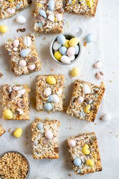 Cloudy Kitchen by Erin Clarkson. A range of sweet and savoury recipes, from baking to weeknight meals. Easter Candy, Easter Treats, Graham Cracker Crust, Graham Crackers, 7 Layer Bars, Caramelized White Chocolate, Magic Bars, How To Roast Hazelnuts, Thing 1