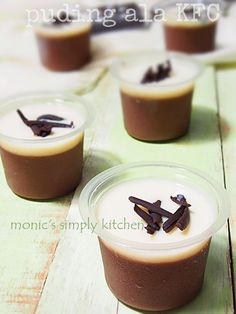 Donut Recipes, Snack Recipes, Cooking Recipes, Snacks, Pudding Desserts, Pudding Recipes, Pudding Cup, Indian Dessert Recipes, Desert Recipes