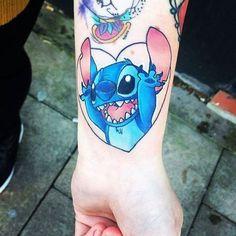 Love this Disney stich tatto