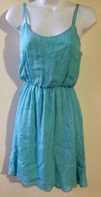 Alice Olivia BY Stacey Bendet Sheer Blue Aqua Dress 100 Silk Retail $368 Size XS   eBay