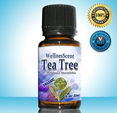 Tea Tree Essential Oil 100% Pure Certified Organic, Therapeutic Grade, Tea Tree Oil Used in Aromatherapy, Acne treatment, foot fungus, cold sores. Medicine Cabinet in a bottle. 10 ml Melaleuca -- See this great image  : pure essential oils