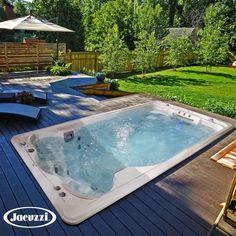 Jacuzzi Hot Tub, Hot Tub Deck, Hot Tub Backyard, Jacuzzi Outdoor, Outdoor Spa, Small Backyard Pools, Swimming Pools Backyard, Small Pools, Natural Swimming Pools