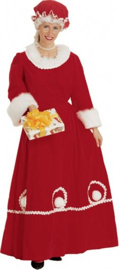 Images about christmas mrs claus costume and