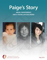 May 16 -- 'Paige's Story' turns spotlight on need for review of British Columbia's Child protection system