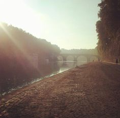 Rome. Banks of the Tiber. Photo: J. KARNER 2012