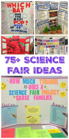 75+ Science Fair Project Ideas                                                                                                                                                                                 More