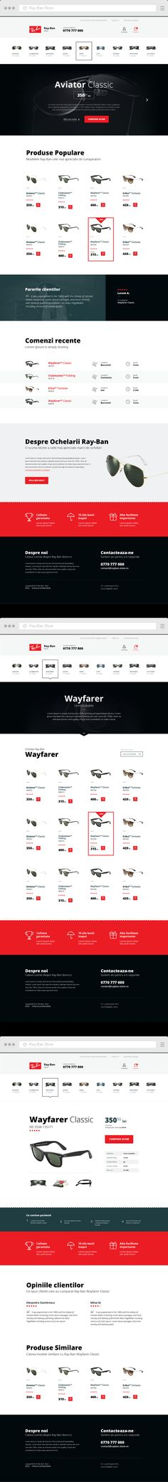 Ray-Ban Store on Behance