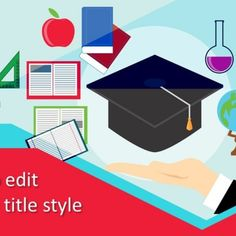 Education #PowerPoint background design for presentation suitable for students, schools, colleges, science laboratories, degree convocation, and many other education or learning methods presentation topics.