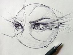 eyes / stroke