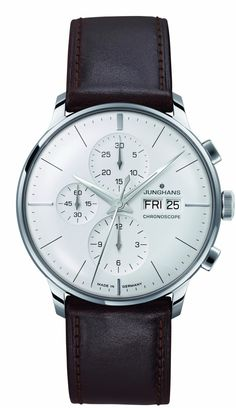 Junghans Watch Meister Chronoscope #bezel-fixed #bracelet-strap-leather #brand-junghans #case-depth-13-9mm #case-material-steel #case-width-40-7mm #chronograph-yes #date-yes #day-yes #delivery-timescale-7-10-days #dial-colour-silver #gender-mens #luxury #movement-automatic #official-stockist-for-junghans-watches #packaging-junghans-watch-packaging #style-dress #subcat-meister #supplier-model-no-027-4120-01 #warranty-junghans-official-2-year-guarantee #water-resistant-30m
