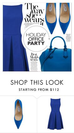 """""""Blue Style"""" by lucky-1990 ❤ liked on Polyvore featuring Jimmy Choo"""