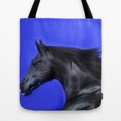 Digital Painting 3f Tote Bag by Horseaholic - $22.00