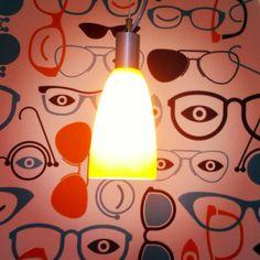 Modern Optometry - Wall Graphic.  #modernoptometry #fairfax #northernvirginia #fairlakes #eastmarket #optometrist #eyeexam #glasses