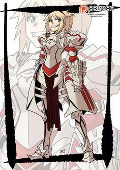 Fate apocrypha: Mordred by KukuruyoArt