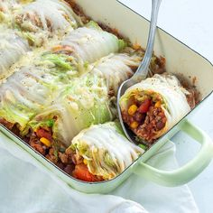 Burritos of cabbage - Burritos of cabbage – Nice recipes - Burritos, Enchiladas, Healthy Snacks, Healthy Recipes, Low Carb Dinner Recipes, Comfort Food, Happy Foods, Mexican Food Recipes, Food Inspiration