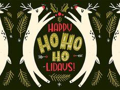 Ho-Ho-Ho-lidays! by Shauna Lynn Panczyszyn