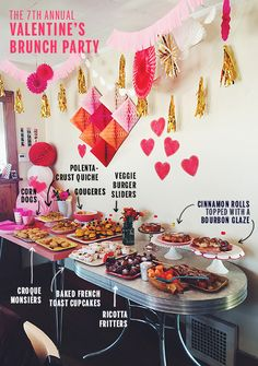 The 7th Annual Valentine's Brunch // take a megabite